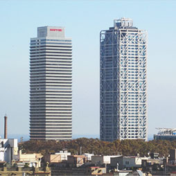 Barcelona Skyline: 25 Years of Building