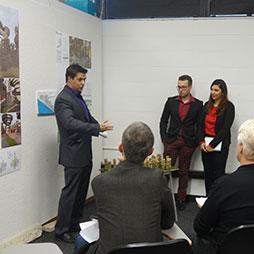 """Sustainable Vertical Urbanism: Towards 2050"" Studio Final Review"