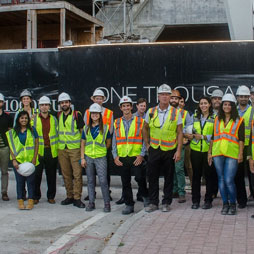 CTBUH Florida Hosts Construction Tour of One Thousand Museum