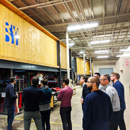 CTBUH Canada Future Leaders Tours RWDI Facilities