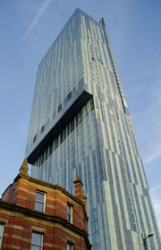 The Beetham Hilton Tower
