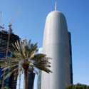 Best Tall Building Middle East & Africa: Doha Tower: Reflecting Culture