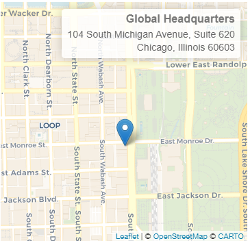 104 South Michigan Avenue, Suite 620 Chicago, Illinois 60603, USA